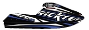 RICKTER FR-2 EVO-1 CARBON HULL BLACK/BLUE HULL
