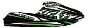 RICKTER FR-2 EVO-1 CARBON HULL BLACK/GREEN HULL