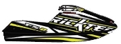 RICKTER FR-2 EVO-1 CARBON HULL BLACK/YELLOW HULL