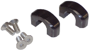 ADA RACING BLACK CLAMPS WITH BOLTS