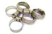 "#4 SS HOSE CLAMP (1/4""MIN 5/8"" MAX) FUEL & WATERLINE"