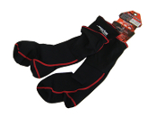 JETTRIBE LYCRA BOOT SOCKS BLACK