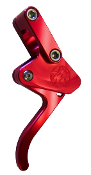 BLOWSION BILLET THROTTLE LEVER RED