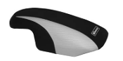 HT PREMIER YAMAHA SUPERJET (96-09) BLK/SILVER CHIN PAD COVER