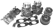 HOT PRODUCTS KAWASAKI 1100 MIKUNI 44MM TRIPLE CARB KIT