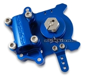 "BLOWSION KOMMAND BILLET STEERING SYSTEM FOR 7/8"" BAR-BLUE"