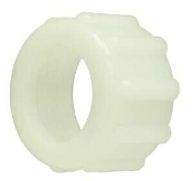 "3/4"" WHITE NYLON GARDEN HOSE NUT"