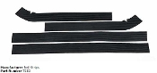 HT BUMPER RAIL STRIPS/MATS ALL STANDUPS BLACK FLAT