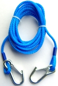 ATLANTIS BLUE TOW ROPE DELUXE WITH CLIPS
