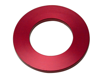 LUCKY 13 5MM SEADOO SPACER - RED