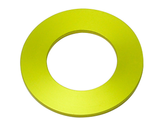 LUCKY 13 3MM YAMAHA/KAWASAKI SPACER - YELLOW