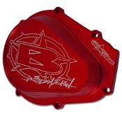 BLOWSION BILLET FLYWHEEL COVER - RED