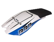 RICK ROY NINJA CHIN PAD - WHITE/BLUE