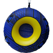 JETTRIBE DONUT TOWABLE ONE PERSON INFLATABLE TUBE - BLUE