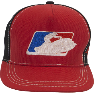 JETTRIBE SIT DOWN LEAGUE HAT - RED