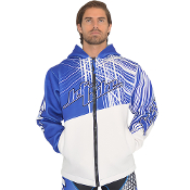 JETTRIBE TOUR COAT SPIKE - BLUE / WHITE