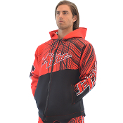 JETTRIBE TOUR COAT SPIKE - RED