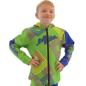 JETTRIBE KIDS (BIG KIDS) TOUR COAT YOUNG HEART- GREEN
