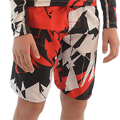 JETTRIBE BOYS SHATTERED SHORTS - RED