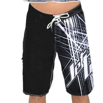 JETTRIBE SPIKE MEN'S BOARD SHORTS - BLACK