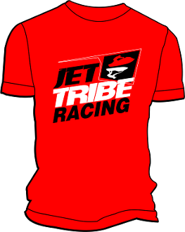 JETTRIBE JET RED T-SHIRT