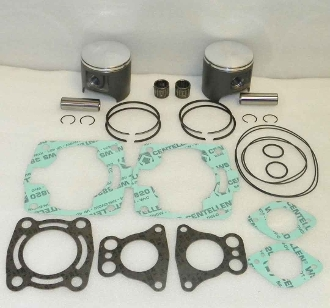 WSM TOP END REBUILD KIT: POLARIS 700 96-04 1MM PLATINUM