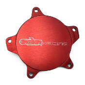 ADA KAWASAKI 1100 FRONT OIL INJECTION COVER - RED