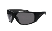 AHI BOMB MATTE BLACK/SMOKE POLARIZED EYEWEAR