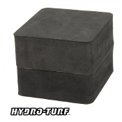 "HYDROTURF MOUNTING BLOCK 4"" (4.7"" X 5.1"") WITH SELF-ADHESIVE"