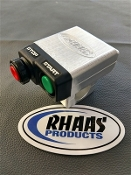 RHAAS KAWASAKI BILLET START SWIITCH HOUSING SILVER