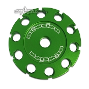 BLOWSION THROTTLE CABLE DRUM - GREEN