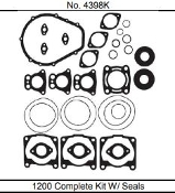 HOT PRODUCTS POLARIS 1200 COMPLETE GASKET KIT WITH SEALS