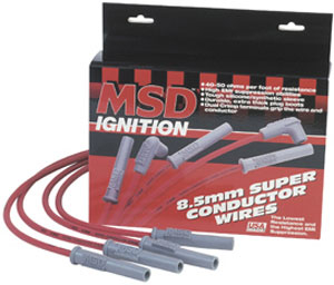 MSD SUPER CONDUCTOR POWERSPORTS WIRE SET (2 CYLINDER)