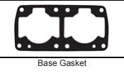 GASKET TECHNOLOGY KAWASAKI 650 CUSTOM BASE GASKET .040